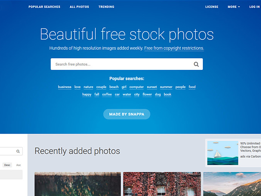 Beautiful free stock photos